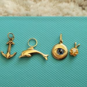 Pendants 10k and 14k gold